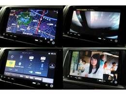 カロッツェリアメモリーナビTV装備です!DVDの再生やBiuetoothオーディオも接続可能です。型番AVIC-RZ06です。バックカメラも装備です。