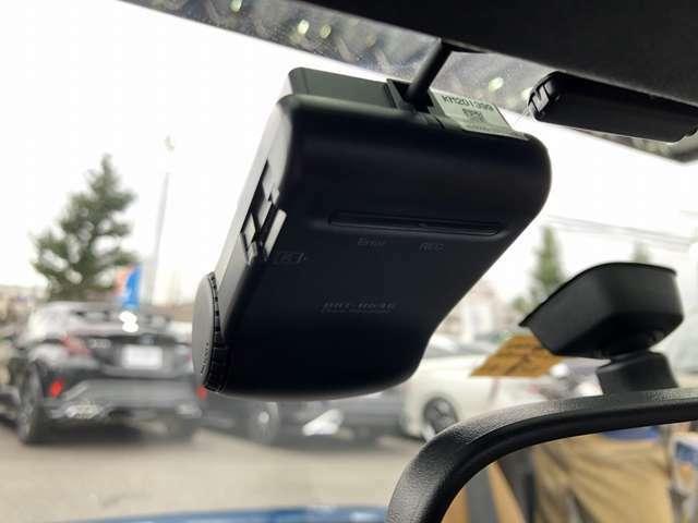 ドライブレコーダー装着でトラブルなどで大活躍☆