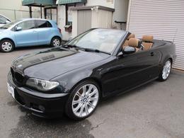 BMW 3シリーズカブリオレ 330Ci Mスポーツパッケージ 後期 OP茶革パワーシート OP18インチアルミ