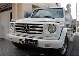 AMG Gクラス G55 ロング 4WD デジーノ白革 HDDナビ地デジ バックカメラ