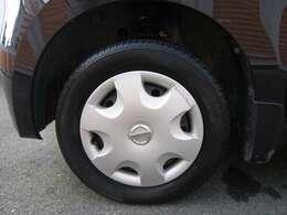 タイヤ溝もございます。
