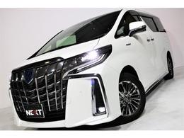 トヨタ アルファード ハイブリッド 2.5 エグゼクティブ ラウンジ S 4WD サンルーフ 黒革シート