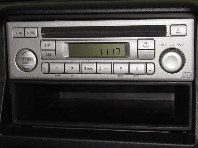 ◆ホンダ純正CDチューナー装備車◆音楽を聴きながらドライブをお楽しみいただけます!