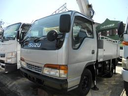 いすゞ エルフ 3.1 高床 ディーゼル 高所作業車 作業高7.2m
