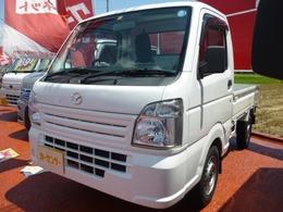 マツダ スクラムトラック 660 KC エアコン・パワステ 4WD 5速マニュアル サイドバイザー