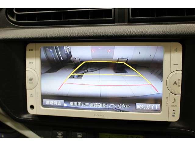 純正ナビ(NSCP-W62) バックカメラ付で車庫入れや縦列駐車も楽々です。