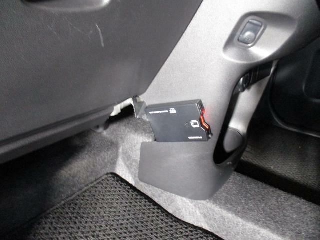 ETC車載器がついています。高速道路での通行料支払いがスムーズにできます。