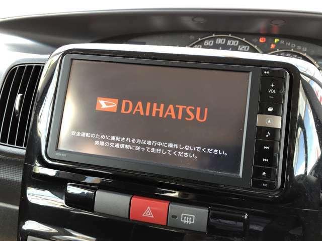 ☆ナビ☆ bluetoothやフルセグTV、DVDビデオの視聴も可能です☆