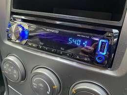 CDオーディオが装備されていますので、お気に入りの音楽を聴きながら運転出来ます♪USBも使えますので、携帯と繋げて音楽を聴くことが出来ます♪