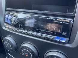 社外オーディオが装備されておりますのでお気に入りの音楽を流してドライブも楽しめますね♪