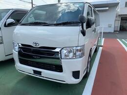トヨタ ハイエースバン 2.8 DX ロング GLパッケージ ディーゼルターボ 登録済未使用車 軽油ターボ ナビフルセグ