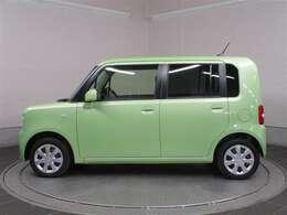カクカクシカジカな緑の車です!