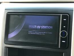 【純正メモリナビ】使いやすいナビで目的地までしっかり案内してくれます。CD/DVDの再生もでき、お車の運転がさらに楽しくなりますね!!