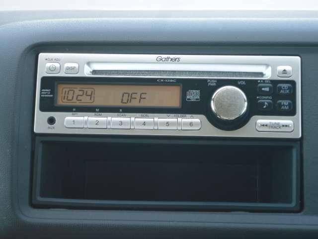 ホンダ社純正オーディオが装備されているので運転中にお好みの音楽を聴くことができます