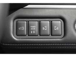 とっても便利な両側電動スライドドア★狭い場所でも大きく開放して乗り降りラクラク♪運転席のスイッチやリモコン操作でカンタン開閉!電動リヤゲートも装備してます!