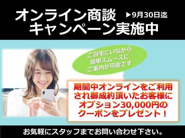 さらに、30000円クーポンプレゼント!低金利キャンペーンも併用可能です☆彡