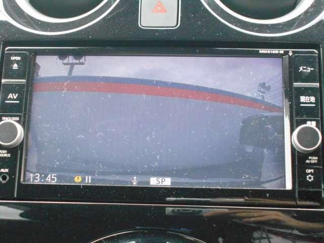 ドライブレコーダーとナビゲーション連動しておりますので、ドライブレコーダーの映像がナビゲーションで再生できます!