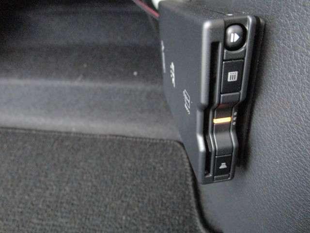 ETCも搭載されています。ETC搭載車しか乗り降りできない高速のスマートICも利用できて、より便利に。
