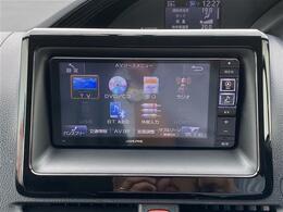 【アルパイン:メモリナビ】CD/DVD/Bluetooth/音楽録音/AM/FM/フルセグ(7W)運転がさらに楽しくなりますね♪