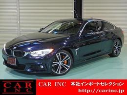 BMW 4シリーズグランクーペ 420i Mスポーツ ワンオーナー 黒本革 19インチAW
