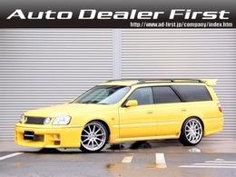 日産 ステージア 2.5 25t RS FOUR S 4WD HDDナビ 車高調 SSR19AW 純正5速 エアロ