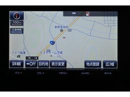 純正SDナビゲーション(NSZT-Y64T)  初めて行く場所でも道に迷うことなく安心です!