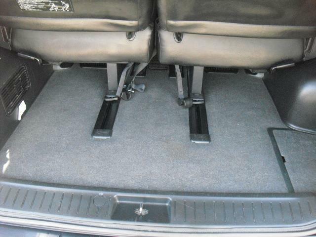 3列席使用時でもラゲッジルームは充分なスペース。日常の荷物には充分な積載容量です