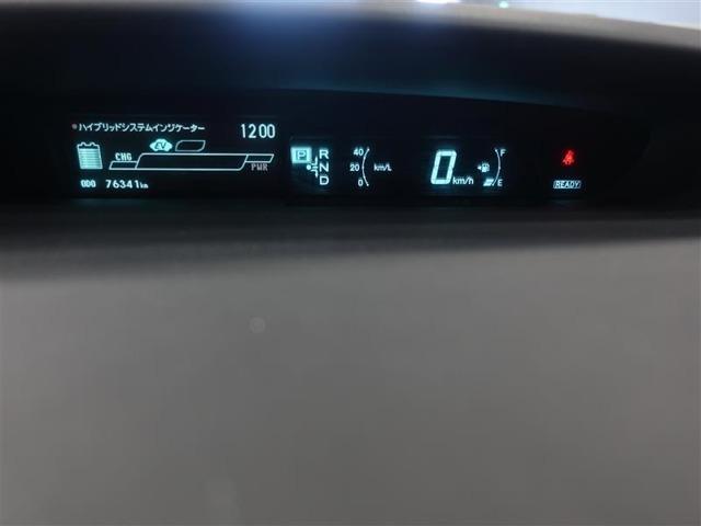 燃費の状況が常に表示できるデジタルメーター!