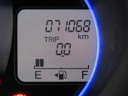 走行距離はおよそ71,000kmです。