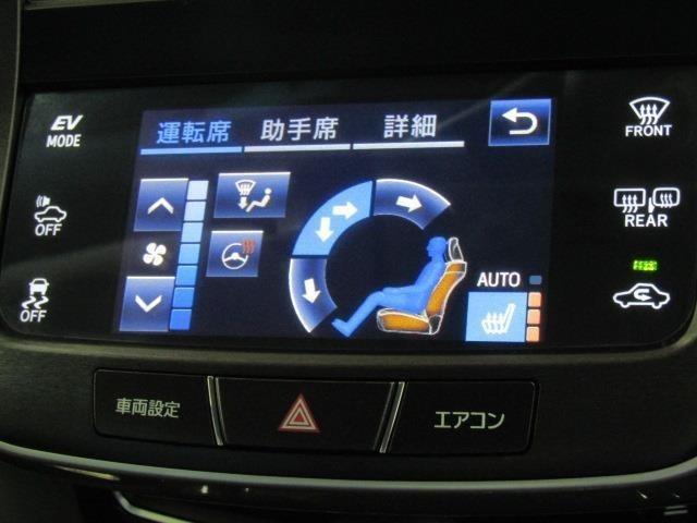 冬でも暖かいステアリングヒーター、フロントシートはシートヒーター付きです♪寒い日でも快適に運転できますね♪
