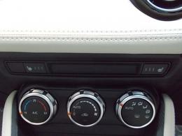 シートヒーターを前席に装備!冬の時期に重宝する装備の一つね☆三段階で温かさを調節できます!