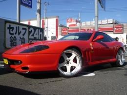 フェラーリ 550マラネロ  チタンマフラー SSR20インチAW