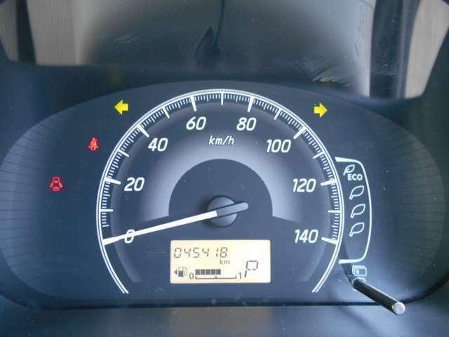 メーター周り 走行距離は約45.500キロ!