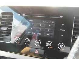 CDオーディオで好きな音楽聞きながらドライブが楽しめます。