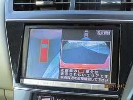 ■全方位カメラ■上空から見下ろしているかのような映像を映し出し、スムースな駐車をサポートします!駐車が苦手な方でも安心ですね♪