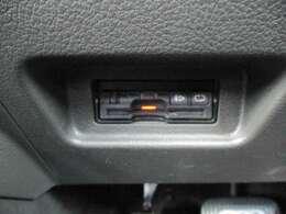 ETC装備☆最近はETC搭載車専用の高速道路出入り口も増えてきましたので、ETCがあればドライブの幅も広がりますね◎