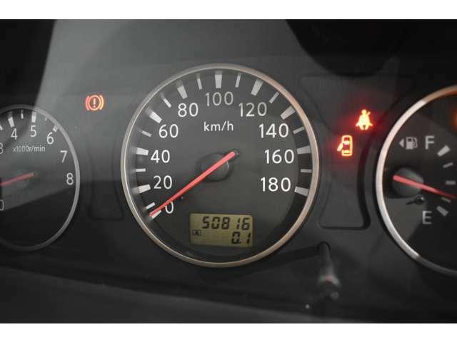 実走行5万km!当社では、修復歴有車、メーター改ざん車は取り扱っておりません。全て実走行距離のお車になります ご安心してカーライフをお楽しみください!