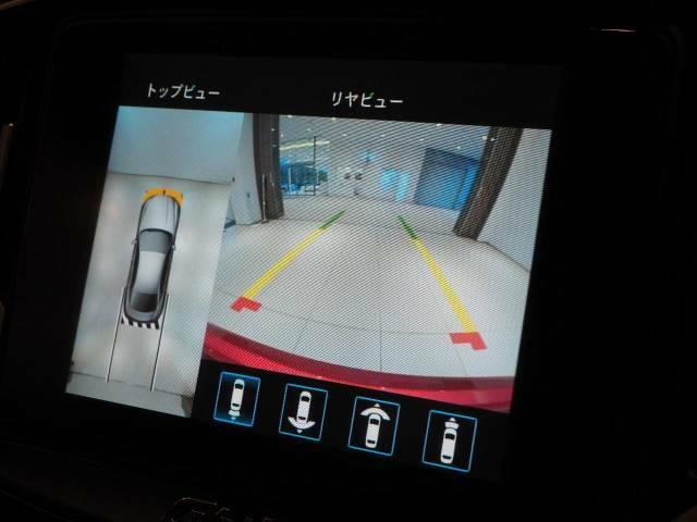 サラウンドビューモニター装備。駐車も安心です。