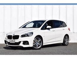 BMW 2シリーズグランツアラー 220i Mスポーツ 認定中古車 1オナ 黒革 地デジ ハーマン