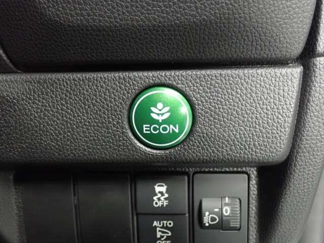 ★エコスイッチ★ エンジンの回転数やエアコンを抑制し、燃費をより良くするためのエコスイッチです。