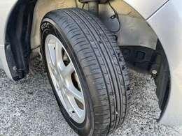 タイヤの溝も十分残っているので、すぐに交換の必要はありません