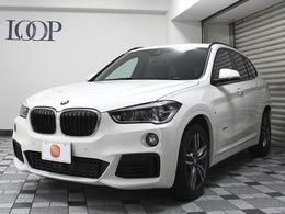 BMW X1 sドライブ 18i Mスポーツ Mスポーツ純正アルミ&スタッドレス付き