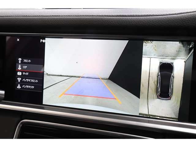 バックカメラに加えサラウンドビューのオプションも入りますので駐車時も安心です。