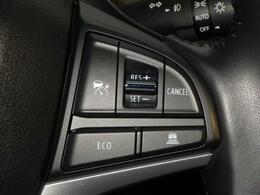 アダプティブクルーズコントロールを搭載!先行車に速度をあわせ追従してくれます。