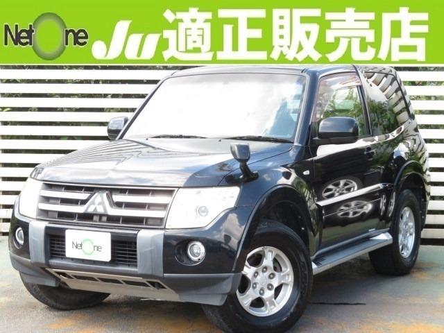 20年式パジェロ ショート3.0VR-I 4WD・純正ナビ・バックカメラ・地デジ・ETC・キセノン