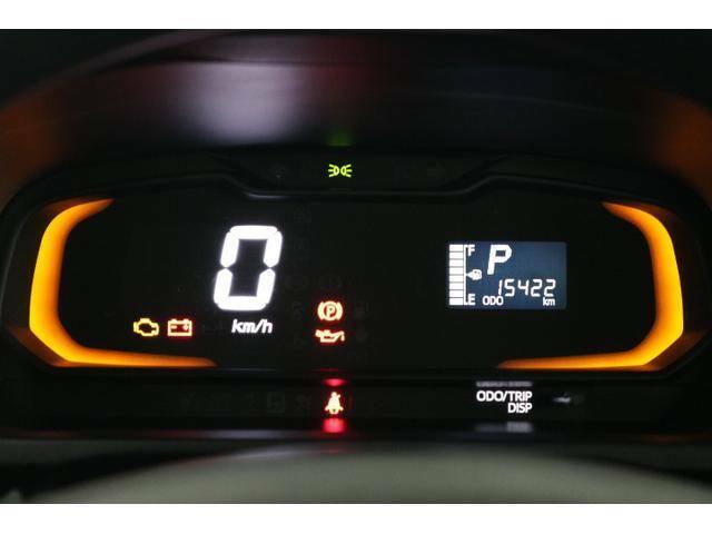 ◆常時発光で視認性のよいデジタルメーターです!メーター上下の照明は、燃費のよい運転をするとグリーンへと変化します。楽しくエコドライブ♪