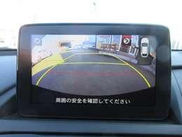 ガイド線付バックカメラ付き♪ 駐車も安心ですね♪