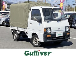 スバル サンバートラック 660 三方開 SDX 4WD 5MT  社外CD 幌付き