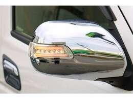 ●今では主流になってきているドアミラーウインカーも、装備しております。視認性も良くおしゃれな装備ですね!!