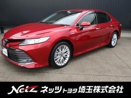 トヨタ カムリ 2.5 G レザーパッケージ 純正ナビ・衝突被害軽減ブレーキ・クルコン